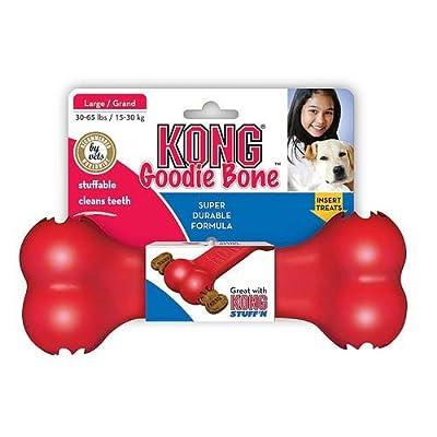 KONG Goodie Bone Dog Toy, Red