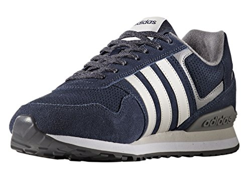 adidas Runeo 10k, Chaussures de Running Homme Multicolore (Collegiate Navy/grey One F17/grey Three F17)