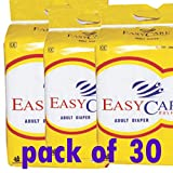 #7: EASY CARE LARGE ADULT DIAPER PACK OF 30 PC