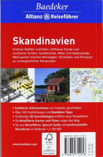 Baedeker Allianz Reiseführer Skandinavien, Norwegen, Schweden, Finnland: Alle Infos bei Amazon