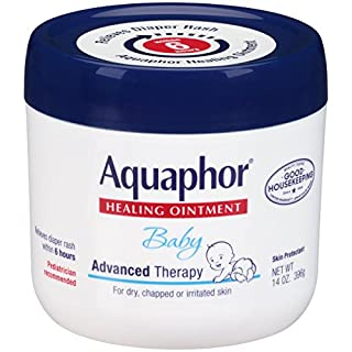 Aquaphor Baby Healing Ointment Diaper Rash and Dry Skin Protectant, 14 oz Jar by Aquaphor