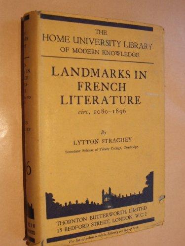 Landmarks in French Literature