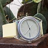 Barton Watch Bands Silikon Schnellverschluß.- Wählen Sie Farbe & Breite (16mm, 18mm, 20mm or 22mm) Gelb 18mm Uhren Armband