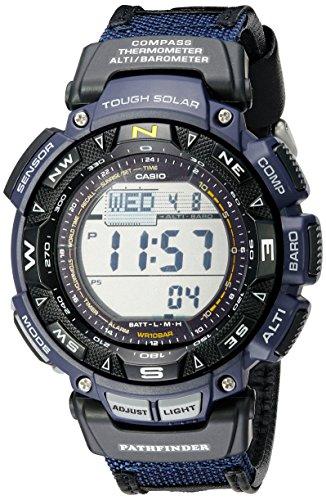 Casio PAG240B-2 Men\'s Pathfinder Digital Compass Triple Sensor Watch