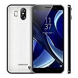 HOMTOM S16 3G Smartphone - 5,5 Zoll 18: 9 HD Bildschirm, Android 7.0 Quad-Core 2GB RAM+16GB ROM, 13MP +8MP Kamera Dual Sim 3000mAh Batterie, Ohne Vertrag Handy