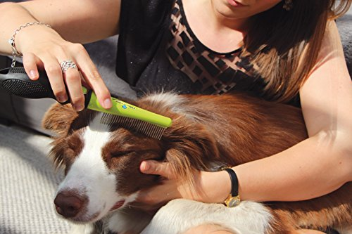 FURminator Dog Grooming Comb Head FURflex, Finishing Comb to Remove Tangles and Debris for All Dogs 3