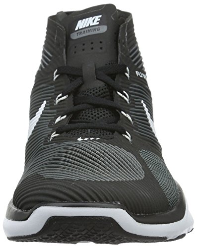 Nike Free Train Instinct, Chaussures de Fitness Homme Noir (Black/White/Dark Grey)