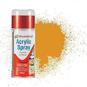 Humbrol - Pintura en Aerosol acrílico (150 ml) 54 metálico (latón)