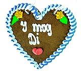 Lebkuchenherz I mog Di I Liebesgeschenk für Freundin/Freund I Liebesherz - Geschenkidee zum Geburtstag für Sie