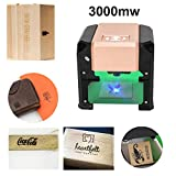 Smartlife Machine De Gravure Laser Laser Graveur Laser 3000MW Mini Machine De Gravure Laser De Bureau Logo DIY Graveur Laser 7.5x7.5CM