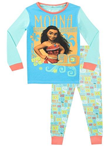 Disney Pijama para niñas Moana Ajuste Ceñido