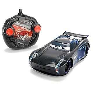 Dickie Toys 203084005 - Cars 3 Turbo Racer Jackson Storm, RC Fahrzeug, ferngesteuertes Auto, 1:24, 17cm