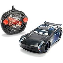 Simba-Dickie Disney Cars 203084005S02 Cars 3 Turbo RC Racer Jackson Storm Toy