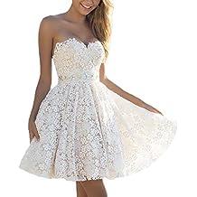 quality design 74b42 22c70 vestiti da sposa eleganti bianchi - Amazon.it