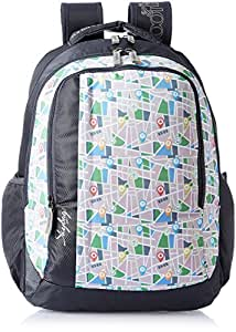Skybags Helix 29.5 Ltrs Grey Casual Backpack (BPHELFS3GRY)