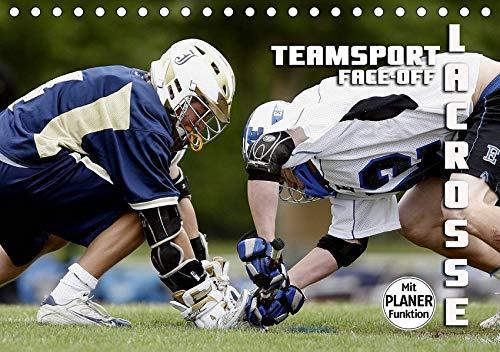 Teamsport Lacrosse - Face-off (Tischkalender 2020 DIN A5 quer): Packende Spielszenen aus der Welt des Lacrosse (Geburtstagskalender, 14 Seiten ) (CALVENDO Sport) (La Postkarte Crosse)