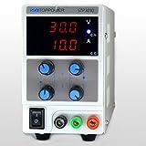 SKYTOPPWER Fuente de alimentación regulable DC 0 - 30V 0 - 10A EU Plug