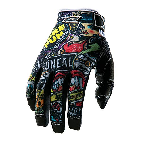 O'Neal Mayhem CRANK MX DH Moto Cross Handschuhe Downhill Mountain Bike Glove, 0385JC-1, Größe Large