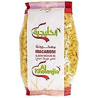 Al Khaleejia Elbow Medium Macaroni, 400 gm