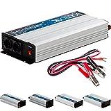 VOLTRONIC modifizierter Sinus Spannungswandler 24V auf 230V, Stromwandler in 4 Varianten: 600 – 2000 Watt, Wechselrichter mit e8 Norm