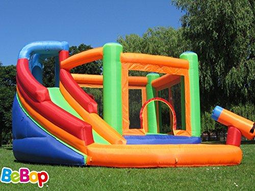 Bebop grande inflable castillo hinchable y tobogán para los niños
