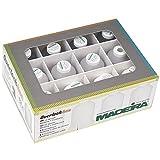 MADEIRA Overlock Garn-Box Sortiert weiß/hellgrau/schwarz/3x1000 m/9x1200 m