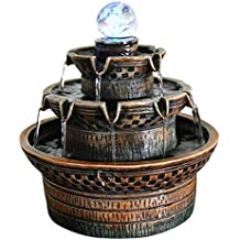 YJLGRYF-Estatua Decorativa Fuente de Feng Shui Europea Artesanía Material de Resina Inauguración de la