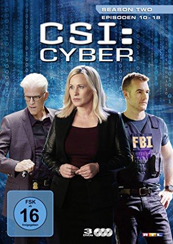 CSI: Cyber - Season 2.2 [3 DVDs] -