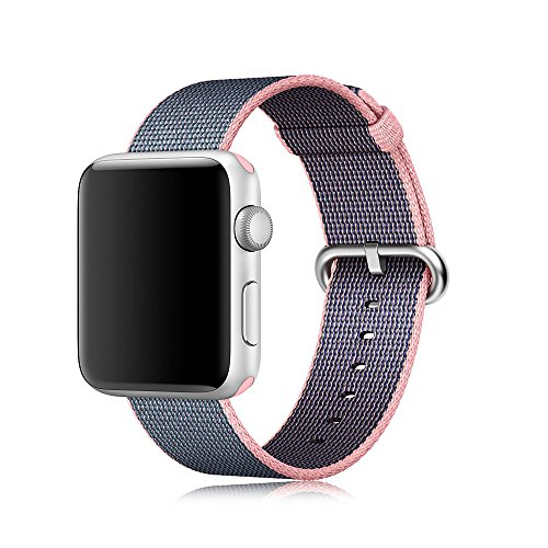 Magiyard Bracelet de sport en nylon pour Apple Watch Series 3/2/1 38 mm