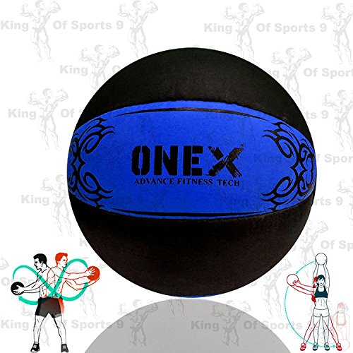 onex-heavy-crossfit-leather-medicine-ball-5kg-7kg10kg-weighted-fitness-training-exercise-workout-sla