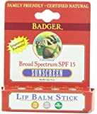 Unscented SPF15 Sunscreen Natural Lip Balm Blocks UVA & UVB Rays 4.2g