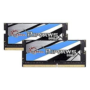 Gskill F4-2400C16D-32GRS Memory SO D4 2400 32GB C16 Rip K2 2X 16GB, 1,2V, Ripjaws