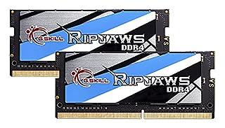 G.Skill Ripjaws F4-2133C15D-32GRS - Módulo de memoria (DDR4, Portátil, 260-pin SO-DIMM, 2 unidades x 16 GB) (B017UC3O76) | Amazon price tracker / tracking, Amazon price history charts, Amazon price watches, Amazon price drop alerts