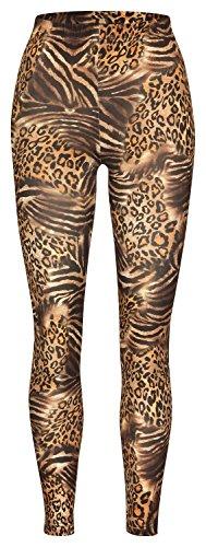 Soxon Damen Legging bedruckt Tiger