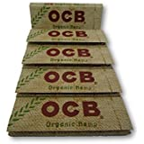 OCB Organic Hemp 1 1/4 Rolling Papers Pack Of 5 Booklets From SUDESH ENTERPRISES