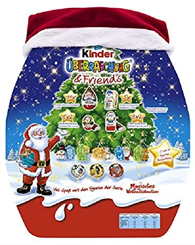 Calendario Dellavvento Ferrero.Kinder Sorpresa E Friends Calendario Dell Avvento 431g