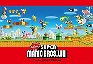 New Super Mario Bros. Wii 108 Piece Jigsaw Puzzle (japan import)