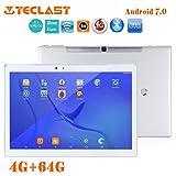 Teclast T10Hexa Core, tablette Turquie NEUF 25,4cm (25,7cm) Tablette PC–(prise en charge de la reconnaissance d'empreintes digitales, Android 7.04Go de mémoire RAM, 64Go de ROM, Mt81762.1GHz Hexa Core, résolution de 2560x 1600, double appareil photo, capteur G, GPS, WIFI, OTG, HDMI, Multi Touch, 8100AMH) Bureau Tablette
