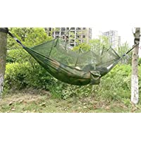 Amaca con zanzariera, leggero e portatile per escursioni e campeggio, viaggi e trekking, camouflage
