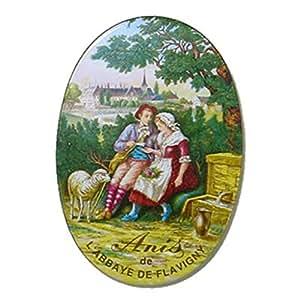 Flavigny boite ovale 50g gout anis: Epicerie