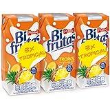 Bifrutas - Tropical - Bebida refrescante con leche y zumo de frutas - 3 x 330 ml