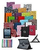 mobibax Prime Custom Made Tablet Schutzhülle mit 360° Drehbar und Ständer Funktion & Stylus Pen * * AUSVERKAUF alle Lager Must Go * * rosa hot pink HTC Google Nexus 9 - 8.9 inch (2014)
