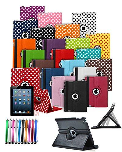 mobibax Prime Custom Made Tablet Schutzhülle mit 360° Drehbar und Ständer Funktion & Stylus Pen * * Ausverkauf alle Lager Must Go * * blau dunkelblau Apple iPad 2 (2nd Gen 2011)