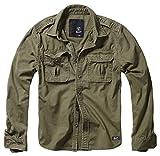Brandit Vintage Shirt Longsleeve, Manches Longues, Olive 3XL