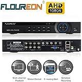 FLOUREON Enregistreur DVR de Surveillance 8 Canaux AHD 1080N HDMI H.264 pour Vidéosurveillance
