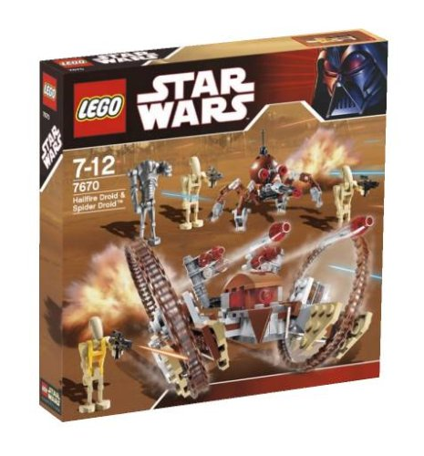 LEGO-Star-Wars-7670-Hailfire-Droid-and-Spider-Droid
