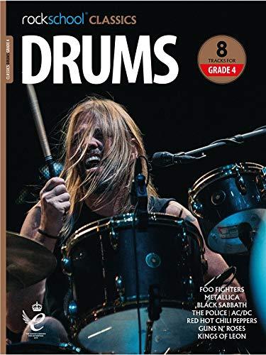 Rockschool Classics: Drums Grade 4 2018+ (Book/Audio). Für Schlagzeug