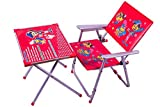 #3: M/s AVANI TRADING & MFG CO. A-1 Kids Table Chair Set Red (Red)