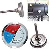 Generic 100-550 Degrees Roast Barbecue BBQ Smoker Grill Thermometer Temp Gauge