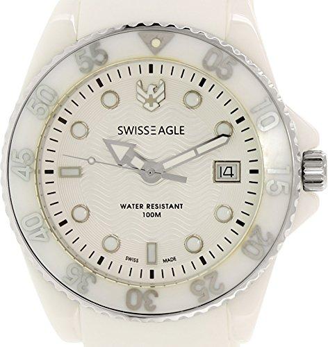 Swiss Eagle Reloj de cuarzo Man Dive 41 mm